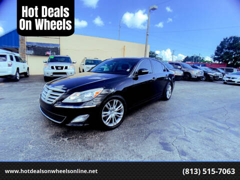 2013 Hyundai Genesis for sale at Hot Deals On Wheels in Tampa FL