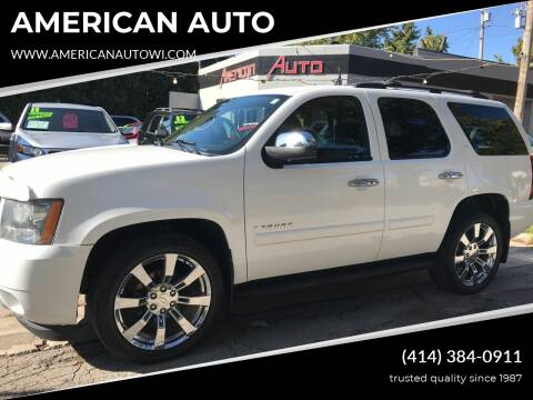2009 Chevrolet Tahoe for sale at AMERICAN AUTO in Milwaukee WI