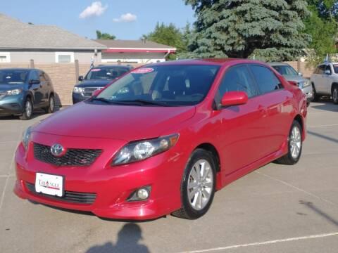 2009 Toyota Corolla for sale at Triangle Auto Sales in Omaha NE