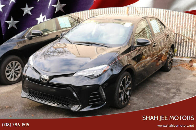 2018 Toyota Corolla for sale at Shah Jee Motors in Woodside NY