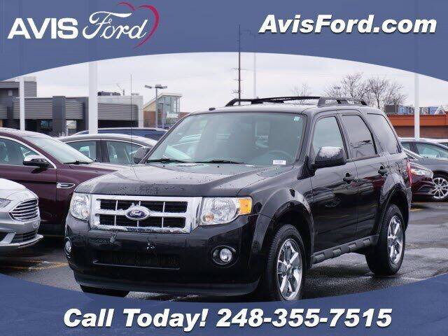 2012 Ford Escape for sale at Work With Me Dave in Southfield MI