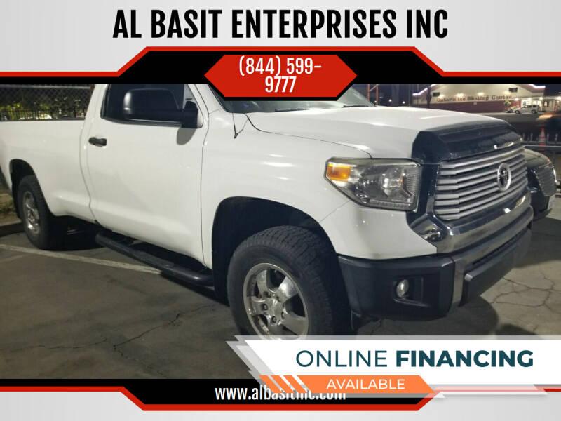 2014 Toyota Tundra for sale at AL BASIT ENTERPRISES INC in Riverside CA