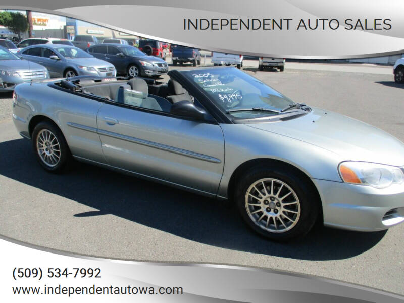 2005 Chrysler Sebring for sale at Independent Auto Sales in Spokane Valley WA