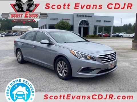 2016 Hyundai Sonata for sale at SCOTT EVANS CHRYSLER DODGE in Carrollton GA