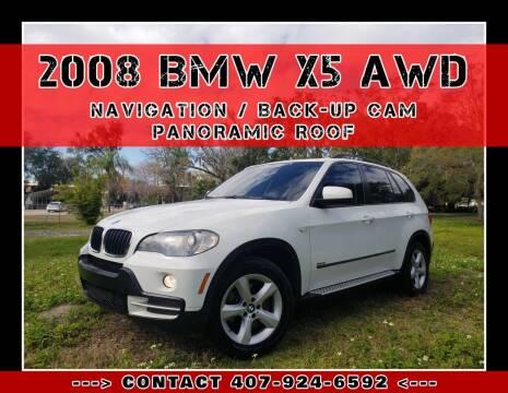 2008 BMW X5 for sale at AFFORDABLE ONE LLC in Orlando FL