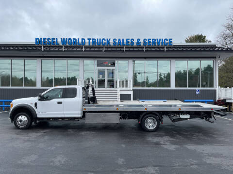 2017 Ford F-550 Super Duty for sale at Diesel World Truck Sales in Plaistow NH