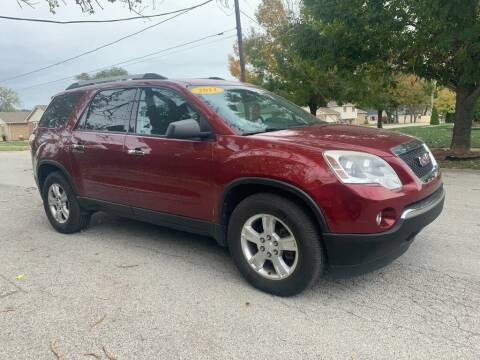 2011 GMC Acadia for sale at Posen Motors in Posen IL