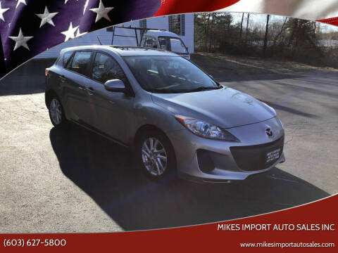 2012 Mazda MAZDA3 for sale at Mikes Import Auto Sales INC in Hooksett NH