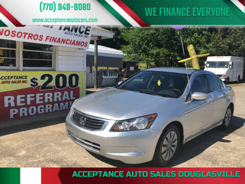2010 Honda Accord for sale at Acceptance Auto Sales Douglasville in Douglasville GA