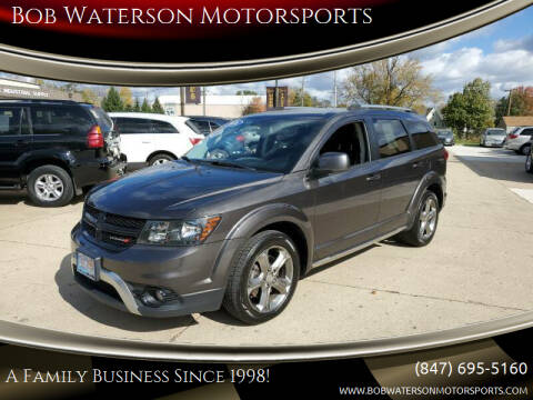 2016 Dodge Journey for sale at Bob Waterson Motorsports in South Elgin IL