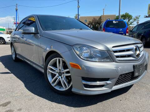 2012 Mercedes-Benz C-Class for sale at New Wave Auto Brokers & Sales in Denver CO