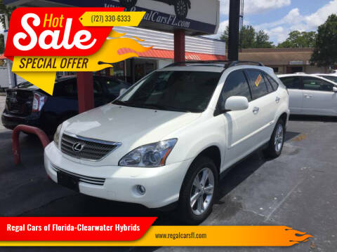 2008 Lexus RX 400h for sale at Regal Cars of Florida-Clearwater Hybrids in Clearwater FL