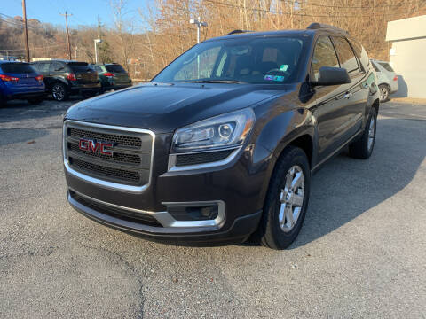 2013 GMC Acadia for sale at B & P Motors LTD in Glenshaw PA