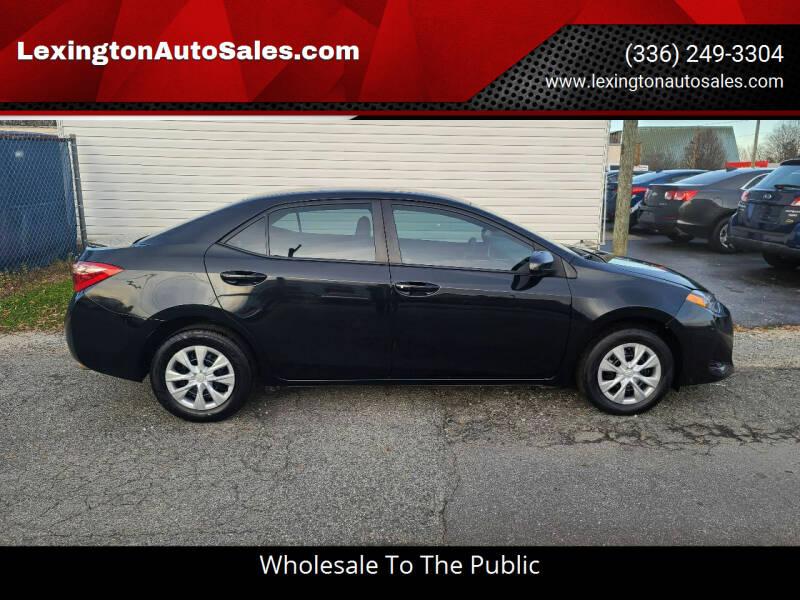 2018 Toyota Corolla for sale at LexingtonAutoSales.com in Lexington NC