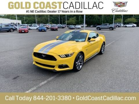 2016 Ford Mustang for sale at Gold Coast Cadillac in Oakhurst NJ