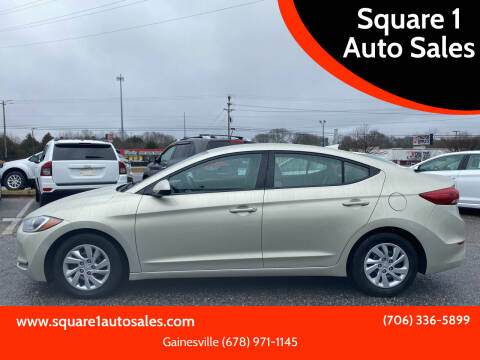 2017 Hyundai Elantra for sale at Square 1 Auto Sales - Commerce in Commerce GA