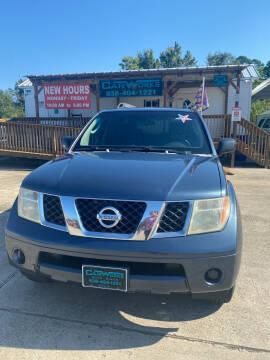 2005 Nissan Pathfinder for sale at CarWorks in Orange TX