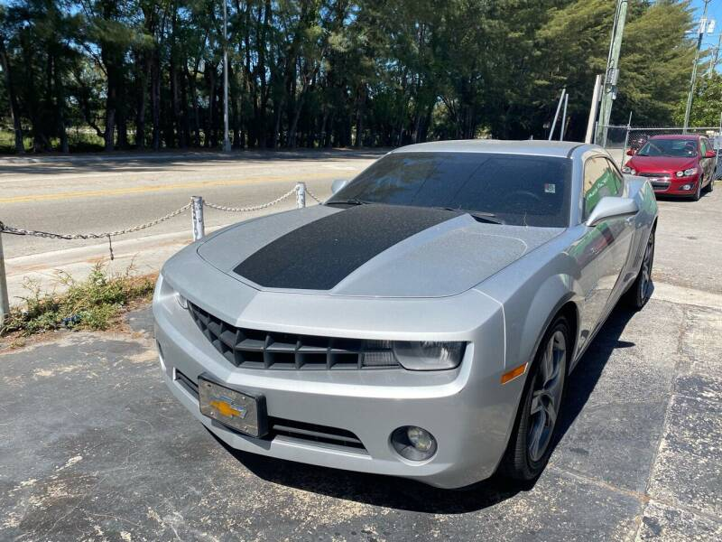 2013 Chevrolet Camaro for sale at Nation Autos Miami in Hialeah FL