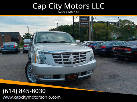 2011 Cadillac Escalade for sale at Cap City Motors LLC in Columbus OH