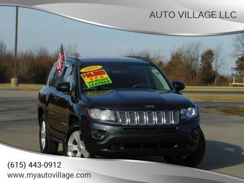 2015 Jeep Compass for sale at AUTO VILLAGE LLC in Lebanon TN