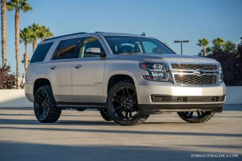 2018 Chevrolet Tahoe for sale at Euro Auto Sales in Santa Clara CA