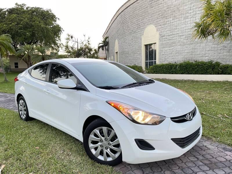 2013 Hyundai Elantra for sale at Citywide Auto Group LLC in Pompano Beach FL