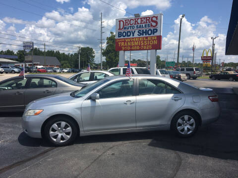 2007 Toyota Camry for sale at Deckers Auto Sales Inc in Fayetteville NC