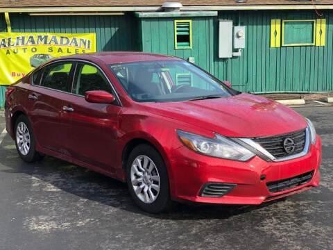 2016 Nissan Altima for sale at ALHAMADANI AUTO SALES in Spanaway WA
