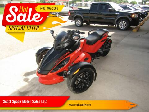 2012 Can-Am SPYDER RS-S 990 for sale at Scott Spady Motor Sales LLC in Hastings NE