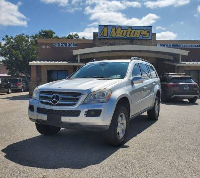 2007 Mercedes-Benz GL-Class for sale at A MOTORS SALES AND FINANCE - 10110 West Loop 1604 N in San Antonio TX