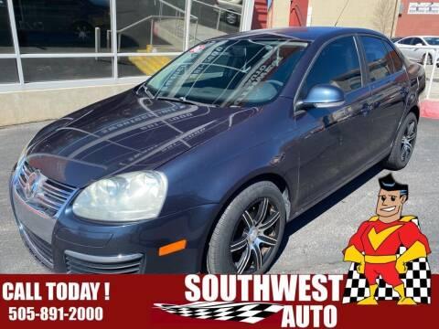 2008 Volkswagen Jetta for sale at SOUTHWEST AUTO in Albuquerque NM