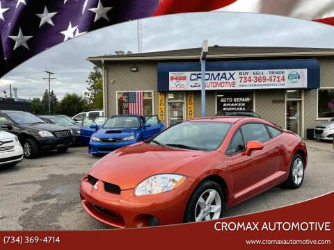 2007 Mitsubishi Eclipse for sale at Cromax Automotive in Ann Arbor MI