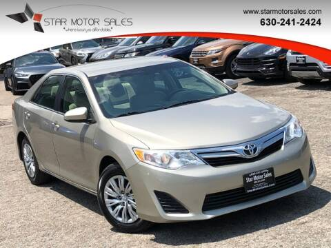 2014 Toyota Camry for sale at Star Motor Sales in Downers Grove IL