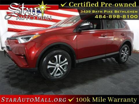 2018 Toyota RAV4 for sale at STAR AUTO MALL 512 in Bethlehem PA