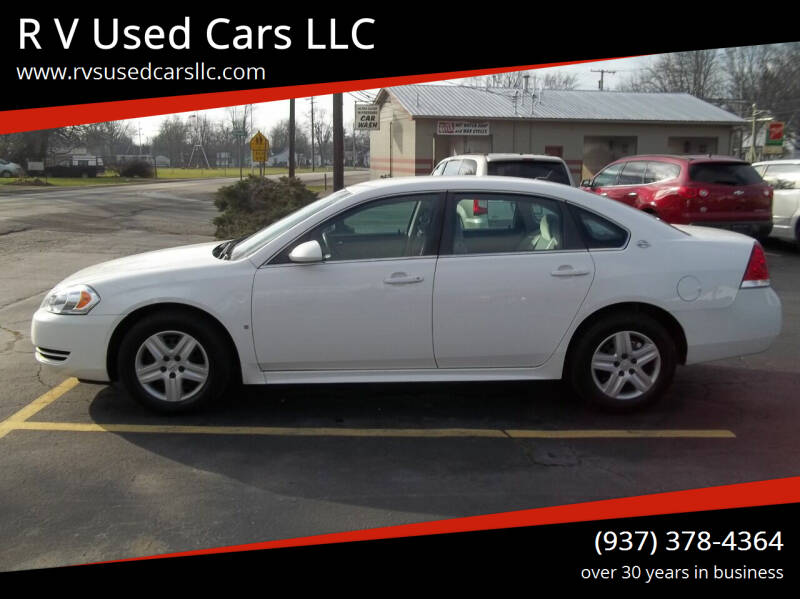 2009 Chevrolet Impala for sale at R V Used Cars LLC in Georgetown OH