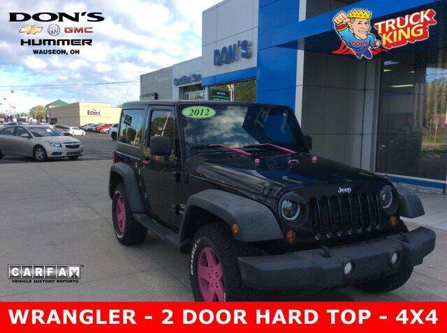 2012 Jeep Wrangler for sale at DON'S CHEVY, BUICK-GMC & CADILLAC in Wauseon OH