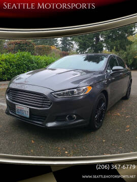2016 Ford Fusion for sale at Seattle Motorsports in Shoreline WA