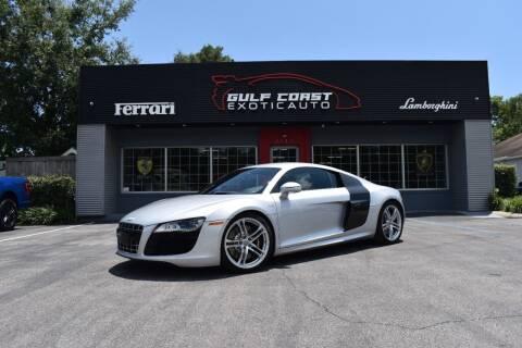 2011 Audi R8 for sale at Gulf Coast Exotic Auto in Biloxi MS