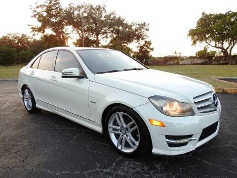 2012 Mercedes-Benz C-Class for sale at SUPER DEAL MOTORS 441 in Hollywood FL