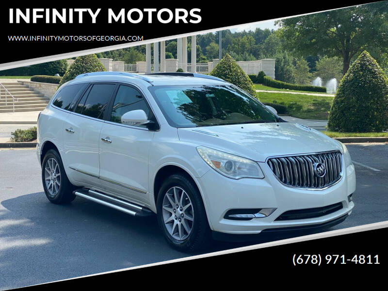 2013 Buick Enclave for sale at INFINITY MOTORS in Gainesville GA