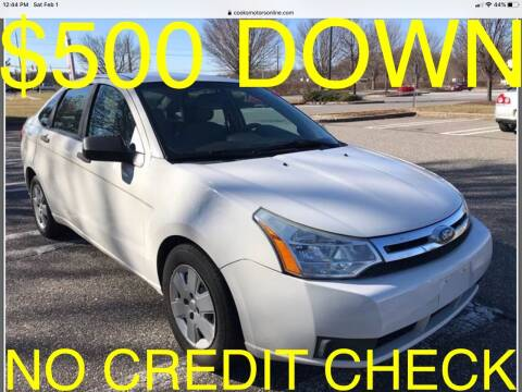 2010 Ford Focus for sale at Cooks Motors in Westampton NJ