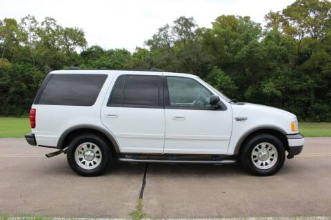 2002 Ford Expedition for sale at Clear Lake Auto World in League City TX