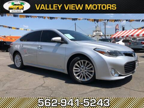 2013 Toyota Avalon Hybrid for sale at Valley View Motors in Whittier CA