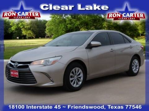 2015 Toyota Camry for sale at Ron Carter  Clear Lake Used Cars in Houston TX