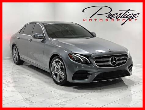 2017 Mercedes-Benz E-Class for sale at Prestige Motorsport in Rancho Cordova CA