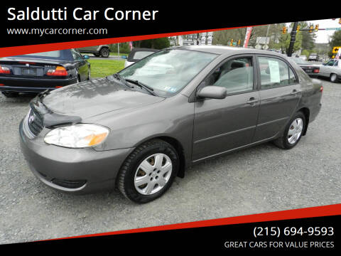 2005 Toyota Corolla for sale at Saldutti Car Corner in Gilbertsville PA