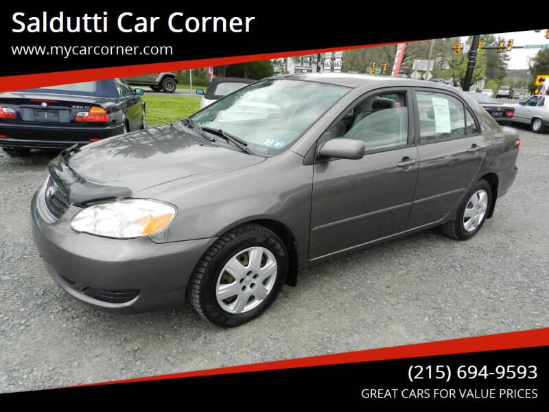 2005 Toyota Corolla for sale at Saldutti Car Corner in Gilbertsville PA