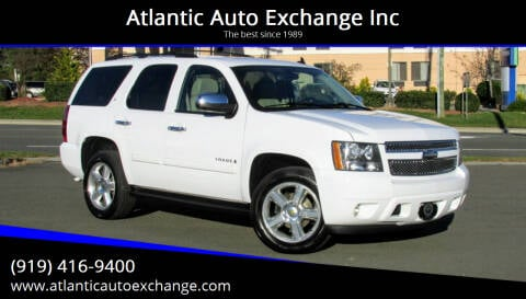 2008 Chevrolet Tahoe for sale at Atlantic Auto Exchange Inc in Durham NC