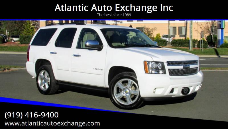 2008 Chevrolet Tahoe for sale at Atlantic Auto Exchange Inc in Durham NC