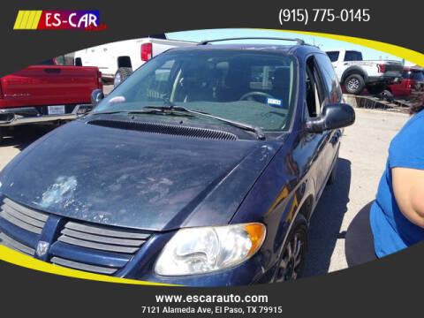 2006 Dodge Caravan for sale at Escar Auto in El Paso TX